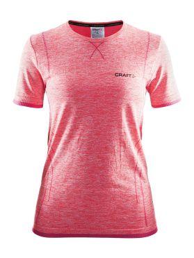 Craft Active Comfort korte mouw ondershirt roze dames