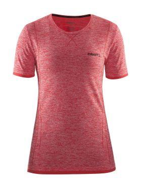 Craft Active Comfort korte mouw ondershirt rood dames