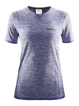 Craft Active Comfort roundneck short sleeve ondershirt paars dames