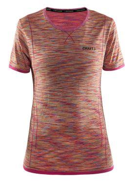 Craft Active Comfort korte mouw ondershirt roze/push dames