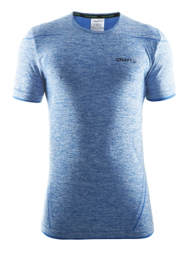 Craft Active Comfort roundneck short sleeve ondershirt blauw heren