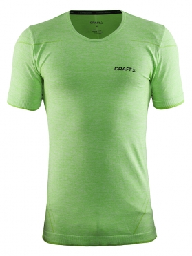 Craft Active Comfort roundneck short sleeve ondershirt groen/shout heren