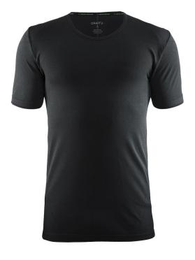 Craft Active Comfort roundneck short sleeve ondershirt zwart solid heren