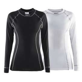 Craft Active Multi 2-pack top zwart/wit dames