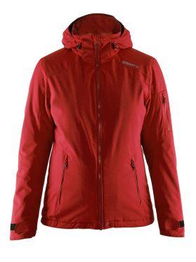 Craft Isola winterjas rood dames