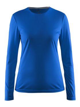 Craft Mind lange mouw hardloopshirt blauw dames