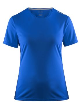 Craft Mind korte mouw hardloopshirt blauw dames