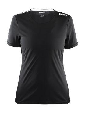 Craft Mind korte mouw hardloopshirt zwart dames