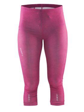 Craft Mind capri 3/4 hardloopbroek roze dames