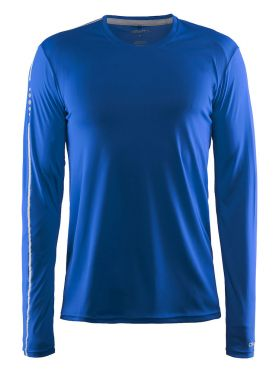 Craft Mind lange mouw hardloopshirt blauw heren