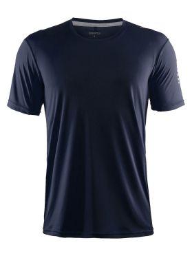 Craft Mind korte mouw hardloopshirt blauw/navy heren