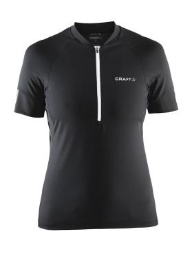 Craft Velo fietsshirt dames zwart/wit