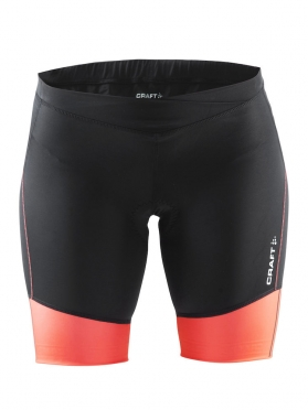 Craft Velo short dames zwart/oranje
