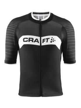 Craft Gran fondo fietsshirt heren zwart/wit/rood