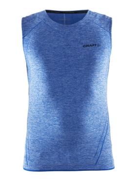 Craft Active Comfort mouwloos ondershirt blauw/sw heren