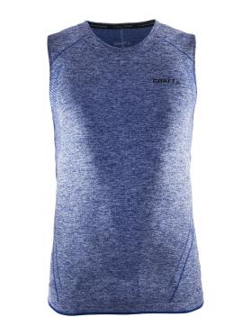 Craft Active Comfort mouwloos ondershirt blauw/deep heren