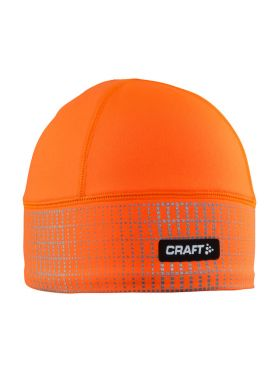 Craft Brilliant 2.0 hardloopmuts winter oranje