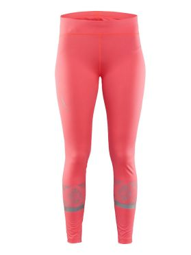 Craft Brilliant 2.0 Light Tight hardloopbroek roze dames