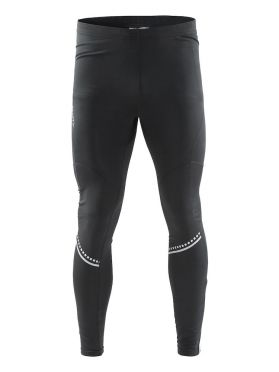 Craft Cover thermal tight hardloopbroek zwart heren