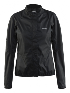 Craft Velo rain jacket zwart dames