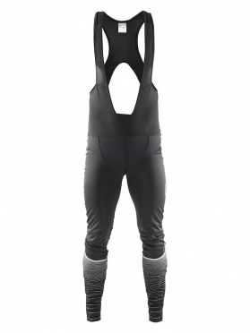 Craft Gran fondo thermal wind bibtight zwart heren