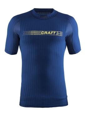 Craft Active extreme 2.0 CN korte mouw ondershirt blauw/deep heren