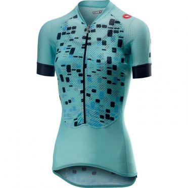 Castelli Climber's W jersey fietsshirt blauw dames