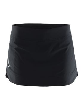 Craft Pep skirt sportrok zwart dames