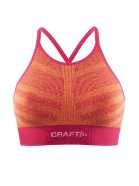 Craft cool comfort low impact beha roze/oranje dames