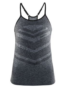 Craft cool comfort singlet mouwloos grijs dames