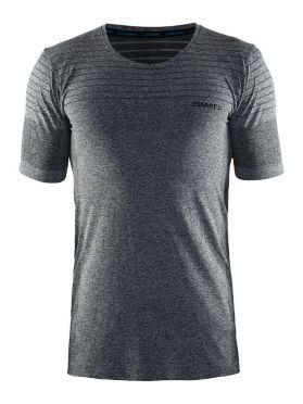 Craft cool comfort korte mouw ondershirt zwart/malange heren