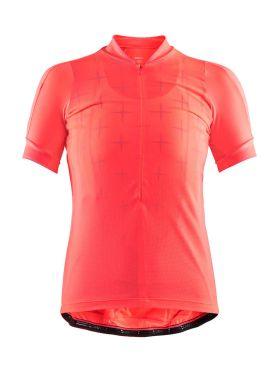Craft Belle glow fietsshirt roze dames