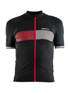 Craft Verve Glow fietsshirt zwart/rood heren