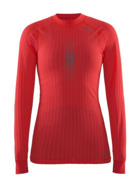 Craft Active Extreme 2.0 brilliant CN lange mouw rood dames