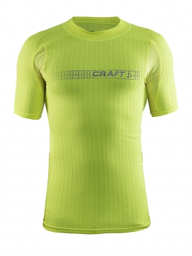 Craft Active Extreme 2.0 brilliant korte mouw ondershirt geel heren