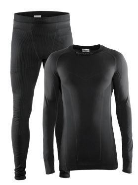 Craft Seamless Zone onderkleding voordeelset zwart heren