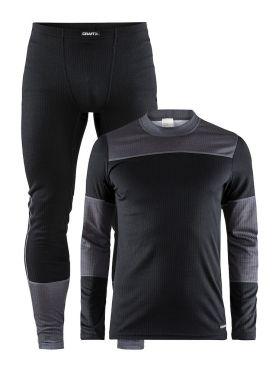 Craft Active onderkleding voordeel set zwart/grijs heren