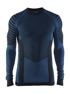 Craft Active intensity crewneck lange mouw ondershirt blauw heren