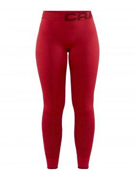 Craft warm intensity lange onderbroek rood dames