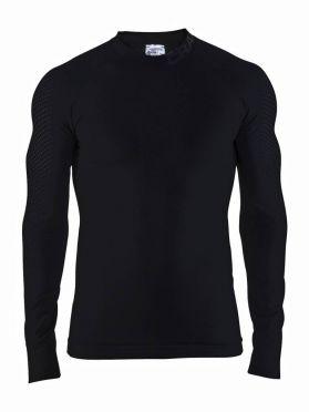 Craft warm intensity CN lange mouw ondershirt zwart heren
