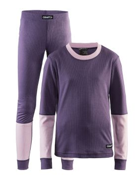 Craft Active onderkleding voordeel set paars kind/junior