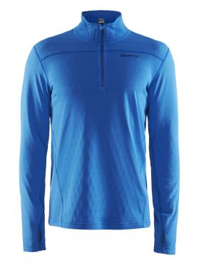 Craft Pin halfzip Skipully blauw/ray heren