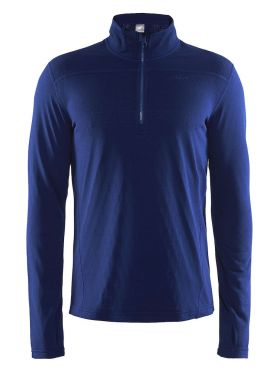 Craft Pin halfzip Skipully blauw/soul heren