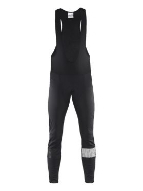 Craft Verve glow bib tights fietsbroek zwart heren