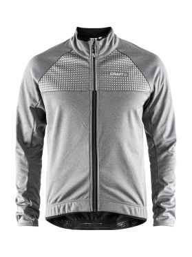 Craft Rime fietsjacket zilver heren