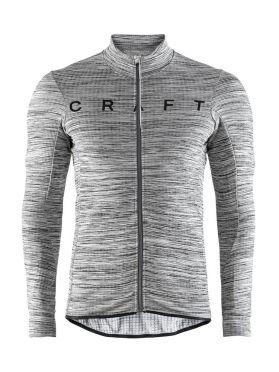 Craft Reel thermal lange mouw fietsshirt grijs heren