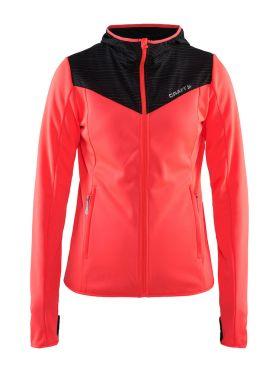 Craft Breakaway jersey hardloopjack roze dames