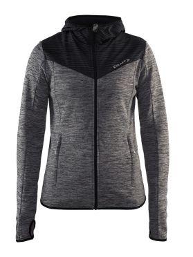Craft Breakaway jersey hardloopjack grijs dames