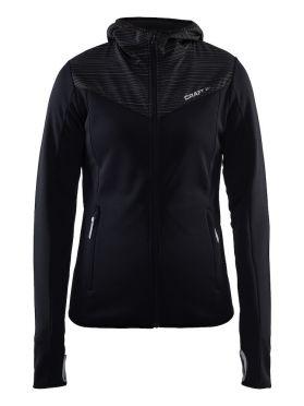 Craft Breakaway jersey hardloopjack zwart dames