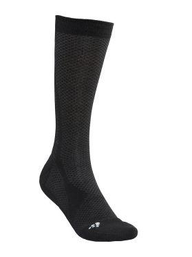 Craft warm mid sokken zwart